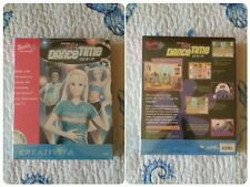 Barbie GIRL DANCE TIME Mattel CD-Rom Software PC computer Game Vintage 1989