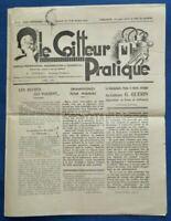 COIFFURE REVUE 1933 LE COIFFEUR PRATIQUE CHATELAIN MOUSS' St-LÔ ALLEMAGNE LOI !!
