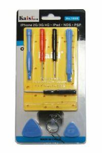 Werkzeugset für iPhone 3G, 3GS, 4, 4S, 5, 6, iPad und iPod,10-teilig