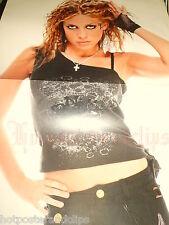 Ein schönes Poster mit der süßen Lafee  wow  im sexy kurzen T-Shirt