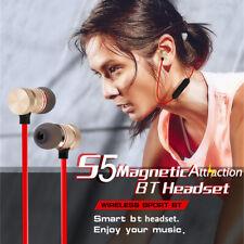 S5 Wireless Magnet Bluetooth 4.2+EDR Stereo Earphones Sports Headphones Headset