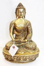 "F638 Exclusive Metal Statue of  Amitabha Buddha 12.9"" tall Hand Crafted in Nepal"