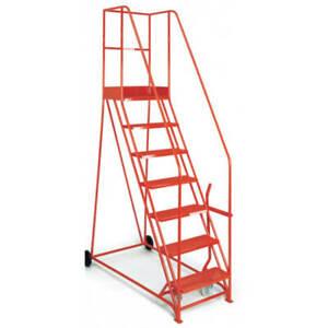 Warehouse steps- Mobile Warehouse Steps-Industrial Steps 5-16 Tread-Mobile Steps