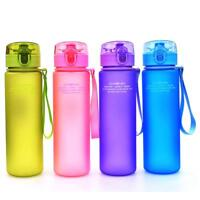 Bottle Water Sport Bike Cycling Leak Proof Insulated Portable Travel Gym Outdoor