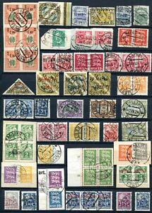 Estland Briefmarken Lot Gestempelt