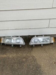 Acura Legend Headlights Assembly Driver & Passenger 91-95 Acura Legend OEM 1994