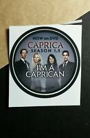"CAPRICA I'M A CAPRICAN SEASON 1.5 RARE TV SMALL 1.5"" GETGLUE GET GLUE STICKER"