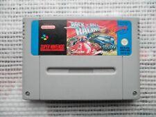 Jeu Super Nintendo / Snes Game Rock'n Roll racing PAL retrogaming original*