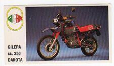 figurina MOTOR SHOW BAGGIOLI 1986 NEW numero 88 GILERA DAKOTA