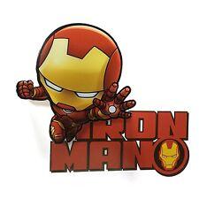 Marvel Avengers mini Iron Man LED Night Light Deco Wall Kids Toy Gift Home