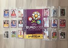 Panini UEFA Euro 2012 Poland Ukraine - Komplett Set mit 566 Sticker inkl. Album