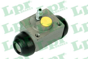 Wheel Cylinder fits FIAT IDEA 350 1.3D Rear 04 to 05 188A9.000 Brake LPR Quality