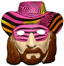 MACHO MAN RANDY SAVAGE WWE WWF CHILD ADULT HEAD NEW FANCY DRESS UP MASK COSTUME