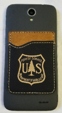 Usfs Forest Service Dept of Agriculture Leather Cell Phone Credit Card Holder