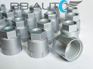 20 NEW SILVER LUG NUT COVERS CAPS CHEVROLET GMC BUICK OLDSMOBILE PONTIAC