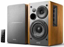 Edifier R1280DB Powered 42W Pair of Wireless Bookshelf Speakers - Wood Grain