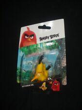Angry Birds Chuck KEYRING LLAVERO KEYFOB XXL, Nuevo Y Sellado