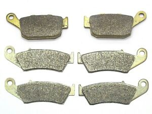 MC Front Rear Brake Pads For Honda XRV 750 Africa Twin P/R/S/T/V/W/X/Y1994-2003
