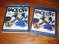 FACE OFF: 40th Anniversary Limited Edition BLU-RAY + DVD, 2011) New + Fast Ship