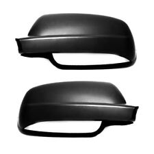Volkswagen Golf mk4 96-04 Pair Mirror Cover Replace Left & Right Black Wing cap
