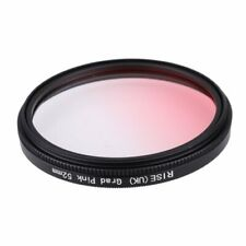 52mm Graduated Pink Special Effects Lens Filter for All Digital Camera Lens