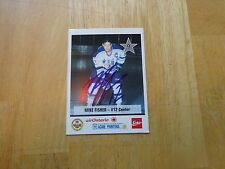 Mike Fisher Autographed Sudbury Wolves Card   Free  s/h