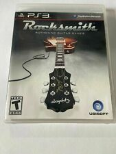 PlayStation 3 PS3 Game Rocksmith Disc, Manual and Case (no Cord)