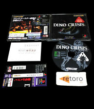 DINO CRISIS Sony playstation PSX Play1 PS1 JAP PSone Capcom Complete