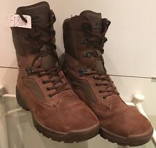 YDS Falcon Army Issue Brown Suede MTP Male Combat/Assault Boots 8M YDF18M
