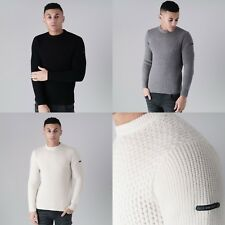 Mens Duck and Cover Casual Smart Crew Neck Heavy Knit Jumper Sweater Top Winter
