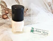 New! Rare Crabtree & Evelyn Aloe Vera Lip Balm 0.15 Oz + Alabaster Nail Polish
