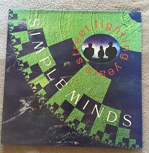 SIMPLE MINDS Street Fighting Years 1989 UK vinyl LP