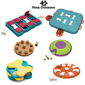Dog Puzzles & Games Brain Training Nina Ottosson Tornado Casino Smart Maze Brick