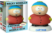 FUNKO POP! South Park - Cartman Talking Wacky Wobbler Bobble-Head - Vinyl NEU