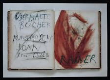 Kunstmuseum Bonn # ARNULF RAINER # 1990, invitation full set, mint--