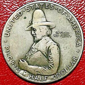 1920 PILGRIM COMMEMORATIVE HALF DOLLAR