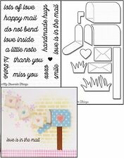 My Favorite Things LOVE IS IN THE MAIL Clear Stamps & MAILBOX Die-namics Die Set