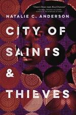 City of Saints and Thieves by Natalie C. Anderson (2017, Hardcover)