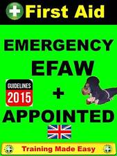 NEW UP TO DATE APPOINTED + EFAW EMERGENCY FIRST AID AT WORK CPR TRAINING UK