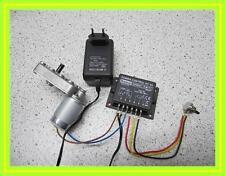 KIT Elektromotor 6-12V DC + Power Controll + Netzteil zum Grillen