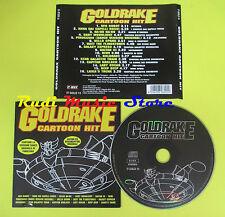CD GOLDRAKE CARTOON HIT compilation 2007 ACTARUS MICRONAUTI (C4) no mc lp vhs