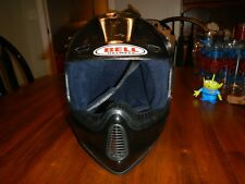 vintage bell moto 6 helmet xl assembled by moncini motorcross rare