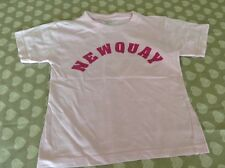 Girls pink Newquay/lifequard t-shirt size 26/28
