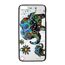 Floral Elephant Cute Pattern Hard Case Cover for iPod Touch 5 gen 5th generation