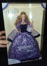 2000 Mattel Barbie Doll Sisters' Celebration With Baby Sister Krissy NRFB #27148