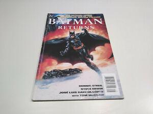 Batman Returns movie adaptation, DC graphic novel/TPB, SC, 1992 1st printing