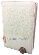 BIBLIA REINA VALERA 1960 COMPACTA RECUERDO DE BODA IMIT* PIEL BLANCO PARA NOVIOS