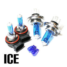 Ford Fiesta MK6 1.4 55w ICE Blue Xenon HID Main/Dip/Fog/Side Light Bulbs Set/Kit