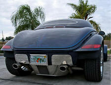 Plymouth Prowler (1997-2002) REAR Bumper Removal Fairings w/Lights ACC-822057