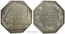 MARSEILLE  ,  CHAMBRE  DE  COMMERCE  ,  BATEAU , ENTREE  DU  PORT , ARGENT 1599